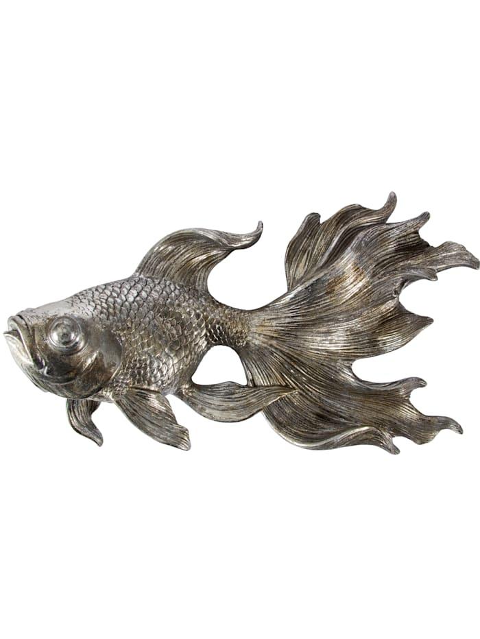 IMPRESSIONEN living Wand-Deko, Fisch, silberfarben