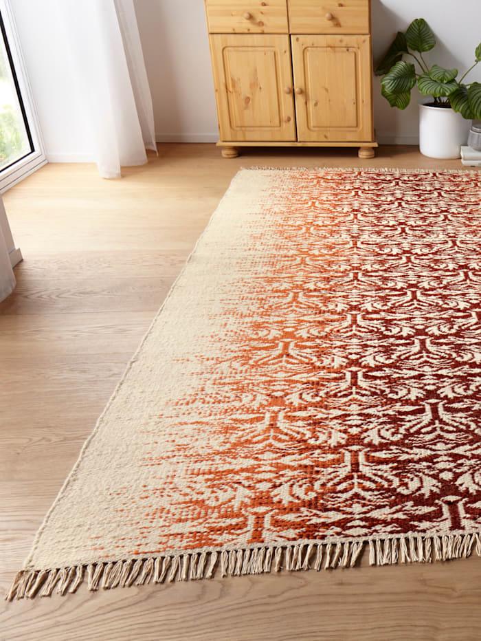 Håndlagd teppe -Eka-