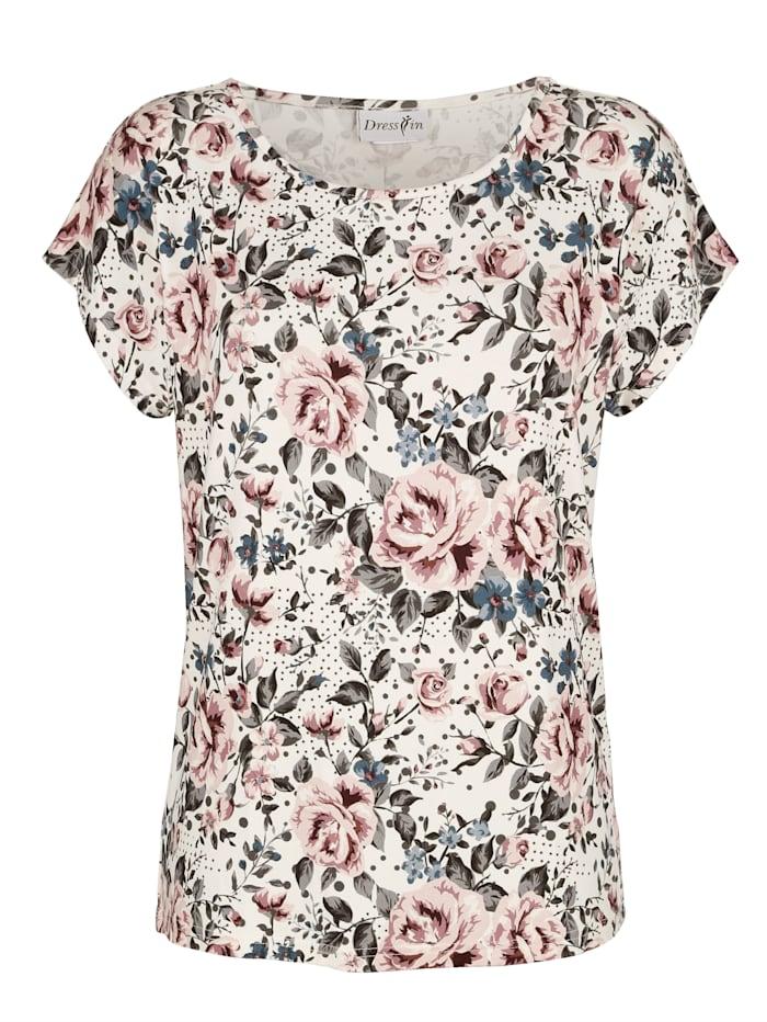 Shirt mit Floralemdruck