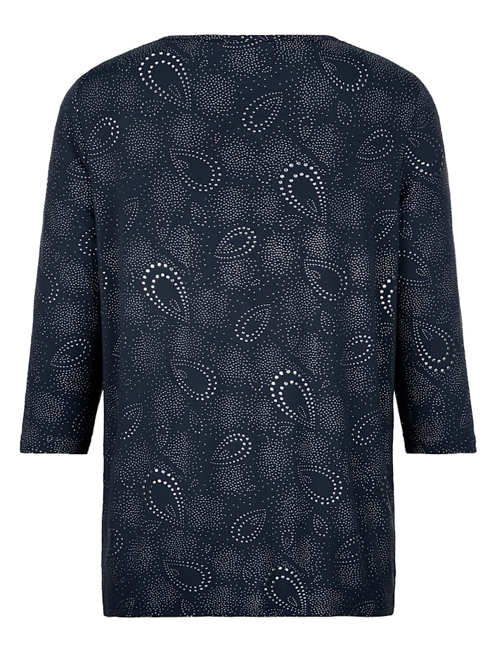 Paisleykuvioitu paita