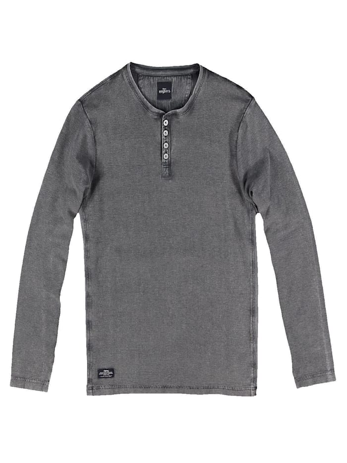 Engbers Henley Shirt, Anthrazit