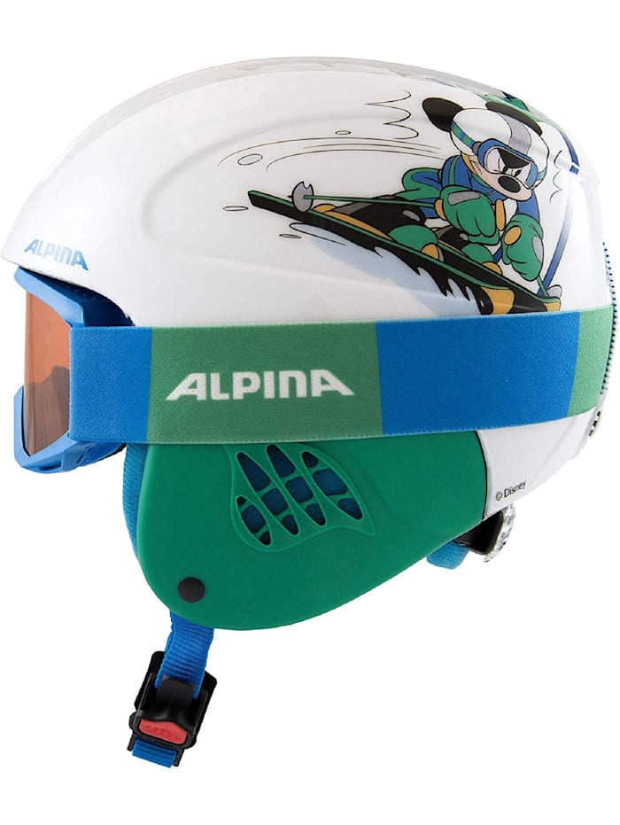 Alpina Alpina Skihelm CARAT SET DISNEY, Blau