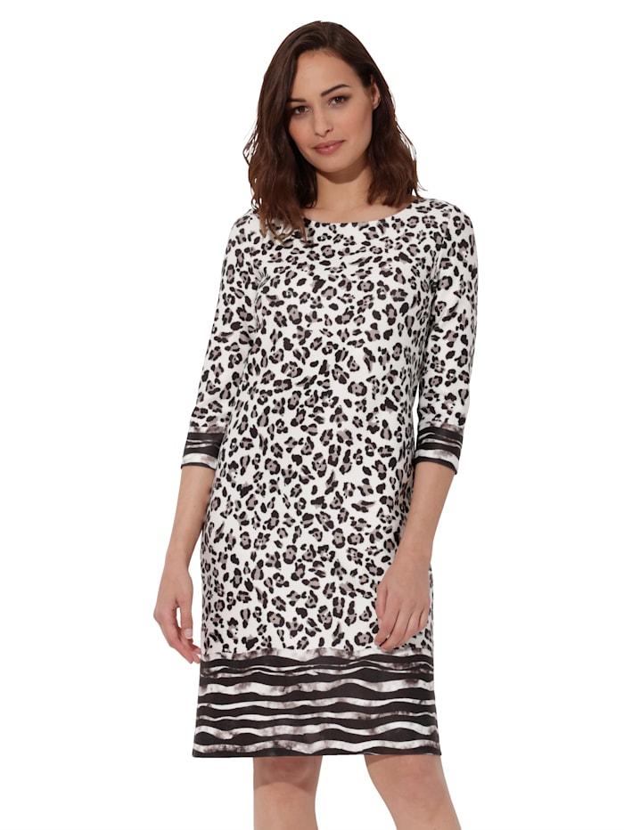 Jerseykleid im Animaldruck