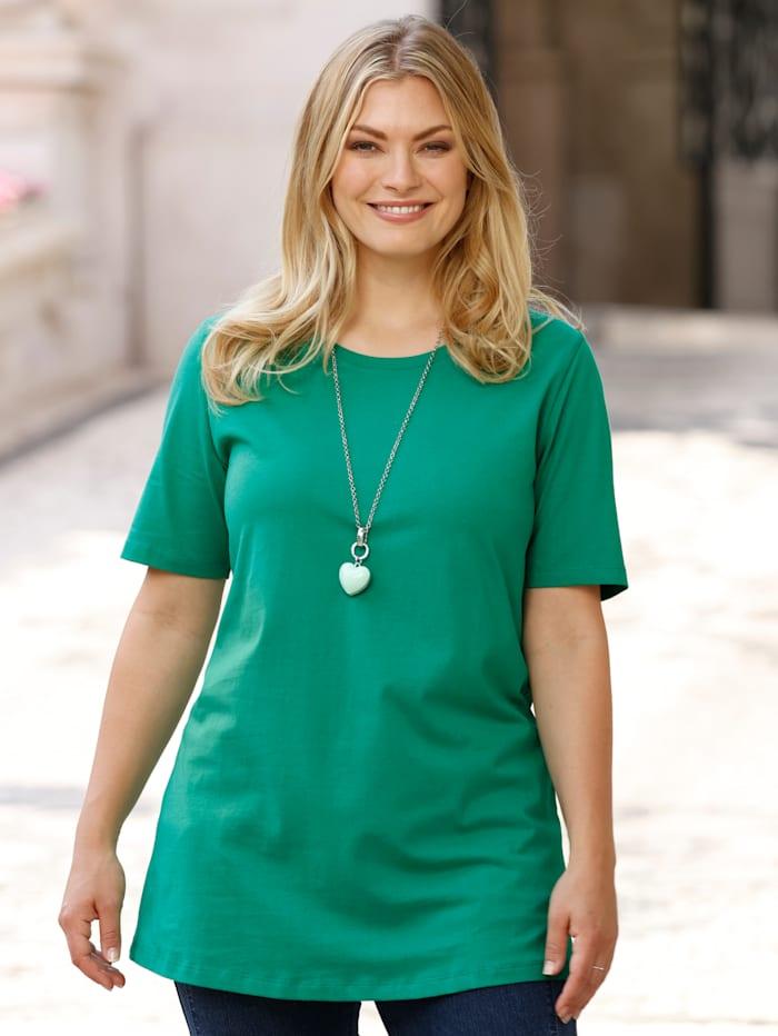 MIAMODA Shirt met ronde hals, Groen