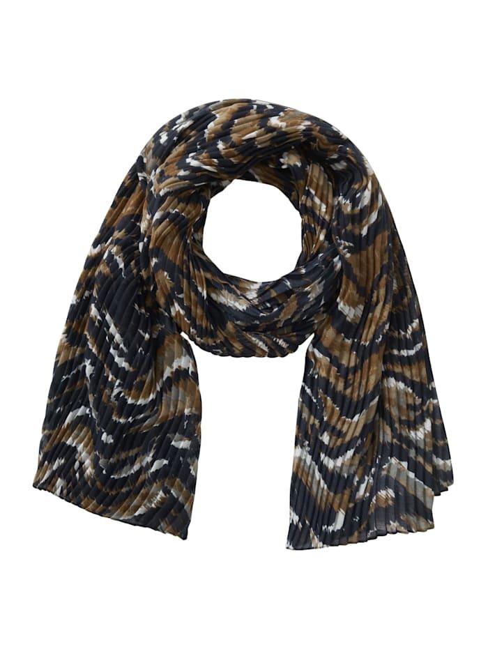 Basic-Schal mit Plissee
