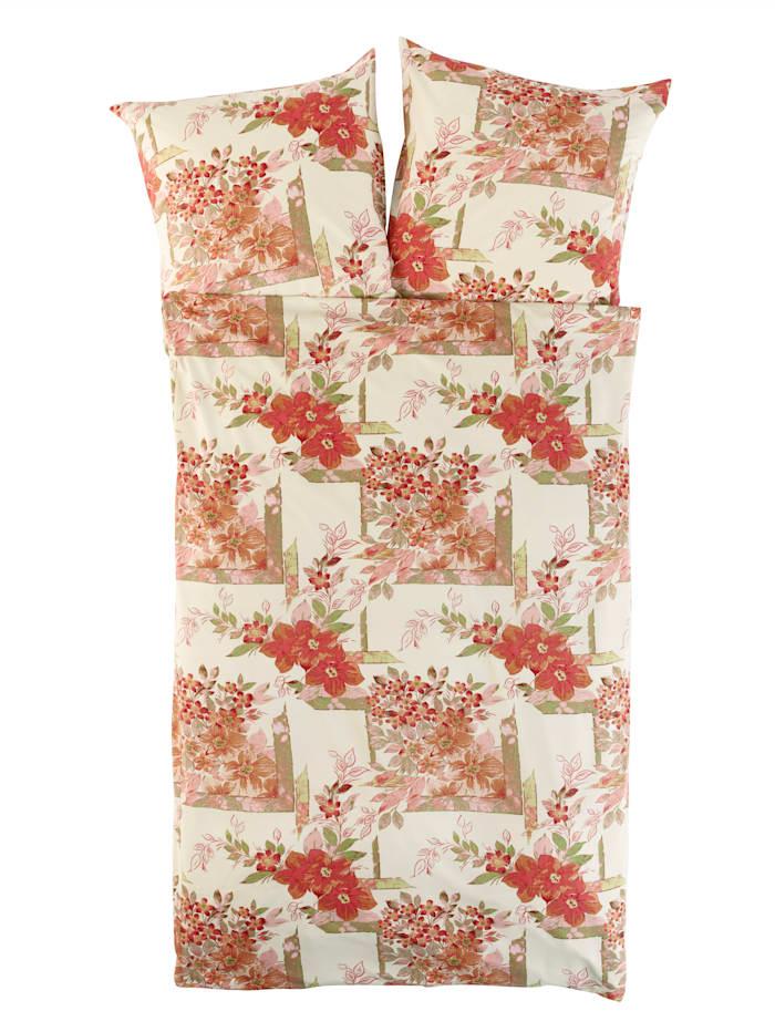 Webschatz Poly Cotton ložní prádlo Anette, přírodní-terra