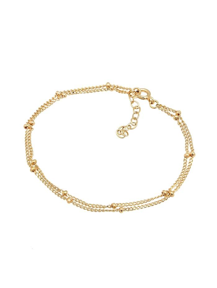 Armband Layer Kugel Kettchen Basic Trend 925Er Silber