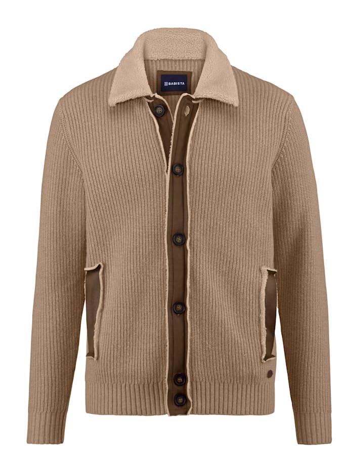 Babista Premium Vest met scheerwol, Beige