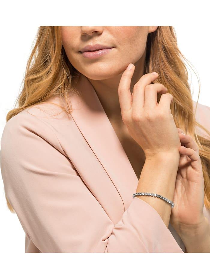 GMK Damen-Armband Edelstahl Zirkonia
