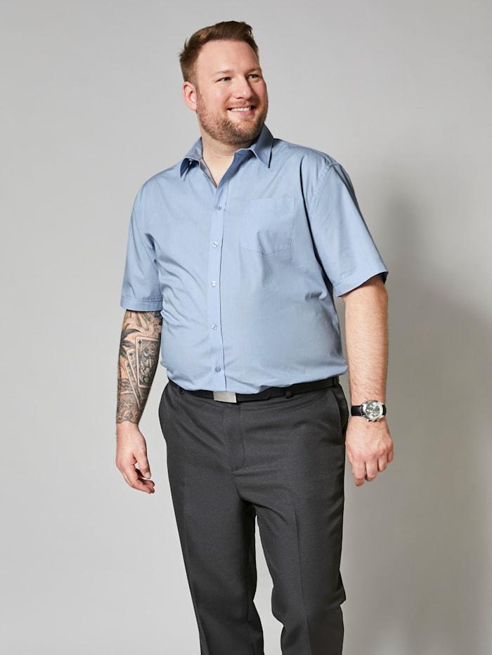 Chemise à manches courtes de style classique