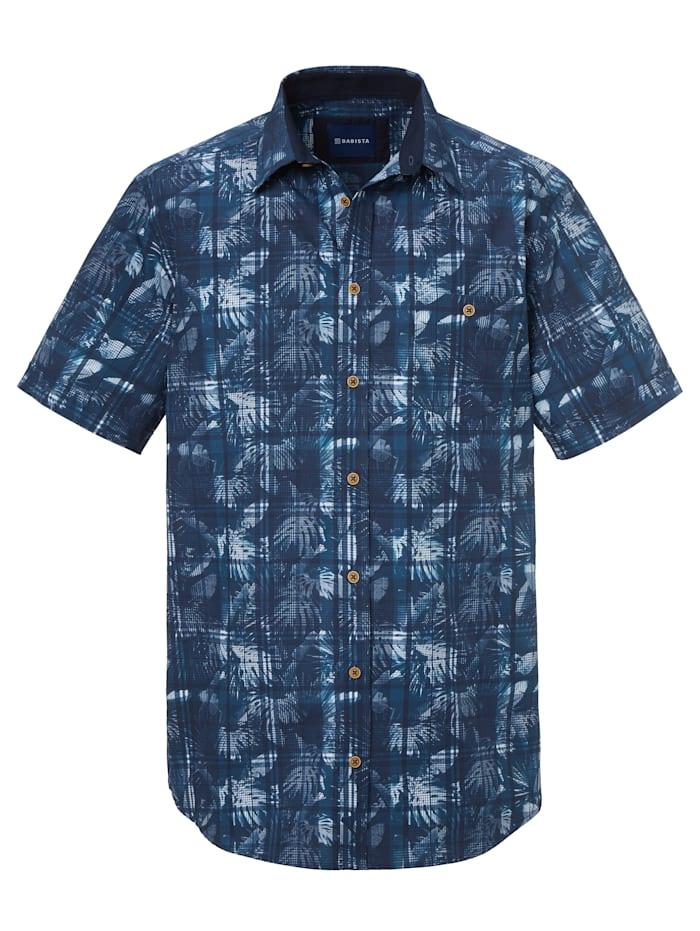 BABISTA Overhemd met modieuze print, Blauw