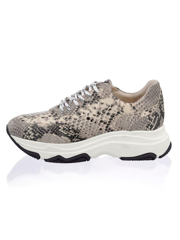 Alba Moda Sneaker met chunky zool, Grijs