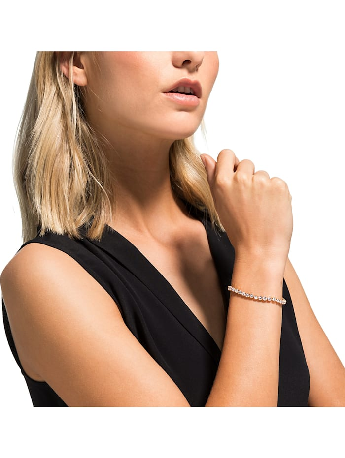 FAVS Damen-Armband Edelstahl 41 Zirkonia