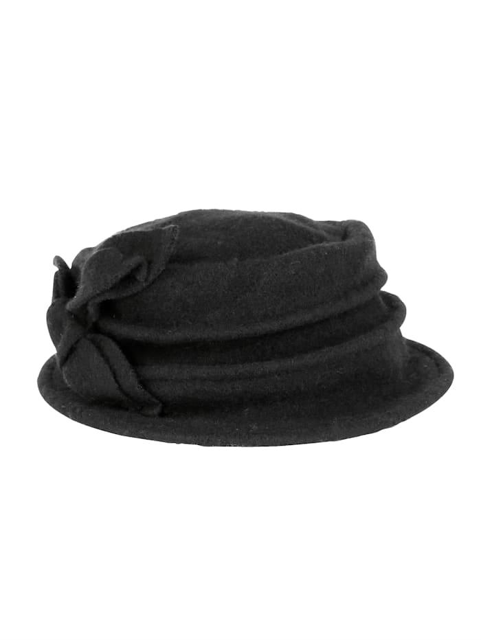 Hut aus reiner Wolle