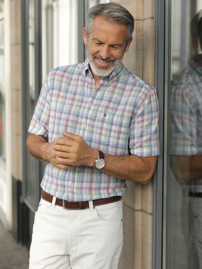 BABISTA Hemd in sommerlicher Qualität, Mintgrün/Rosé
