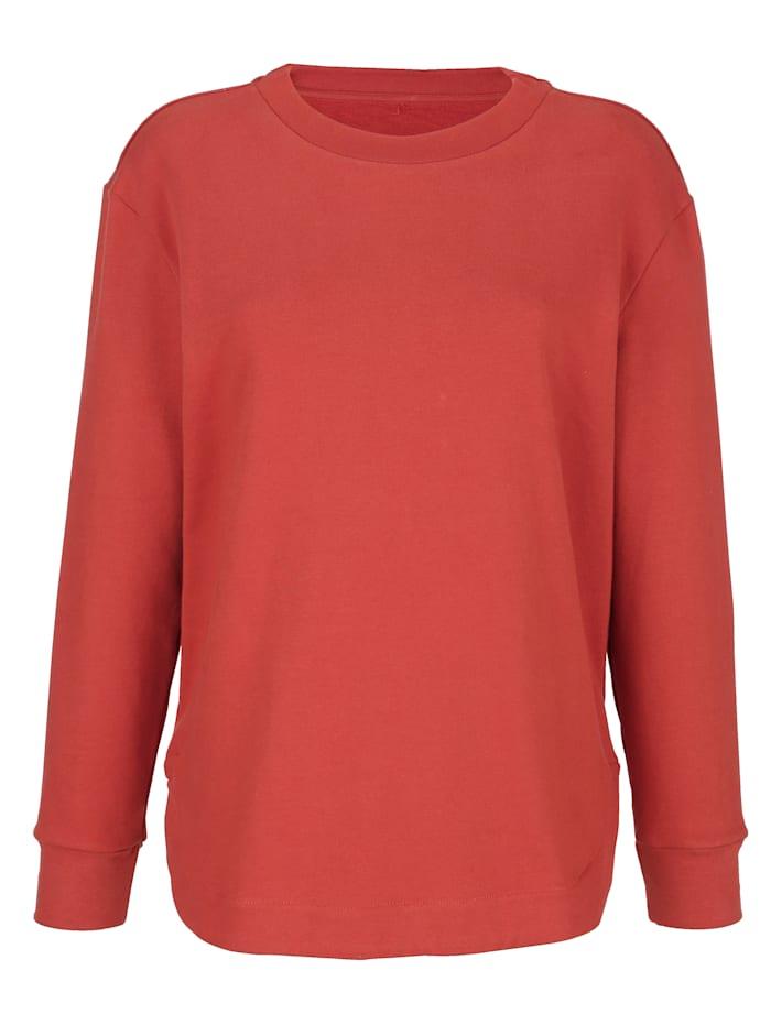 Sweatshirt in modernem Schnitt