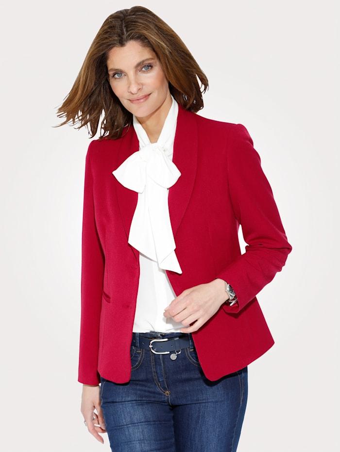 MONA Blazer in elastischer Qualität, Rot