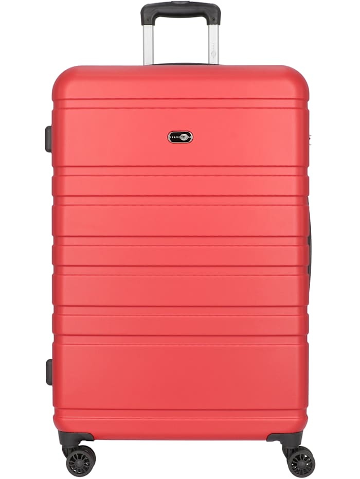 Travel Pal Hamburg 4-Rollen Trolley 78 cm, rot