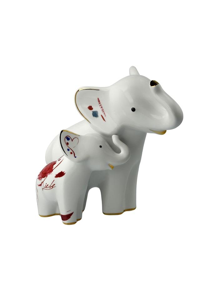 """Goebel Goebel Figur Elephant - """"Larro e Emoli"""", Bunt"""
