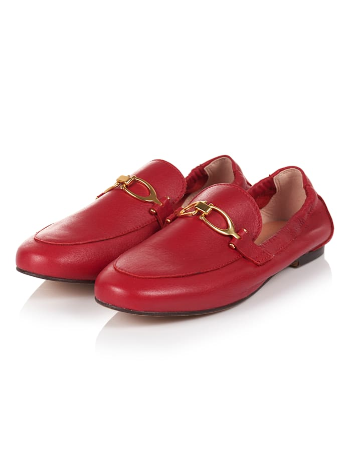 SIENNA Loafer, Rot