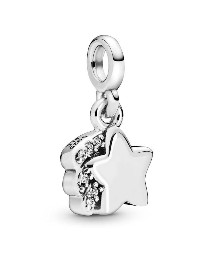 Pandora Charm-Meine Sternschnuppe- Pandora ME 798378CZ, Silberfarben