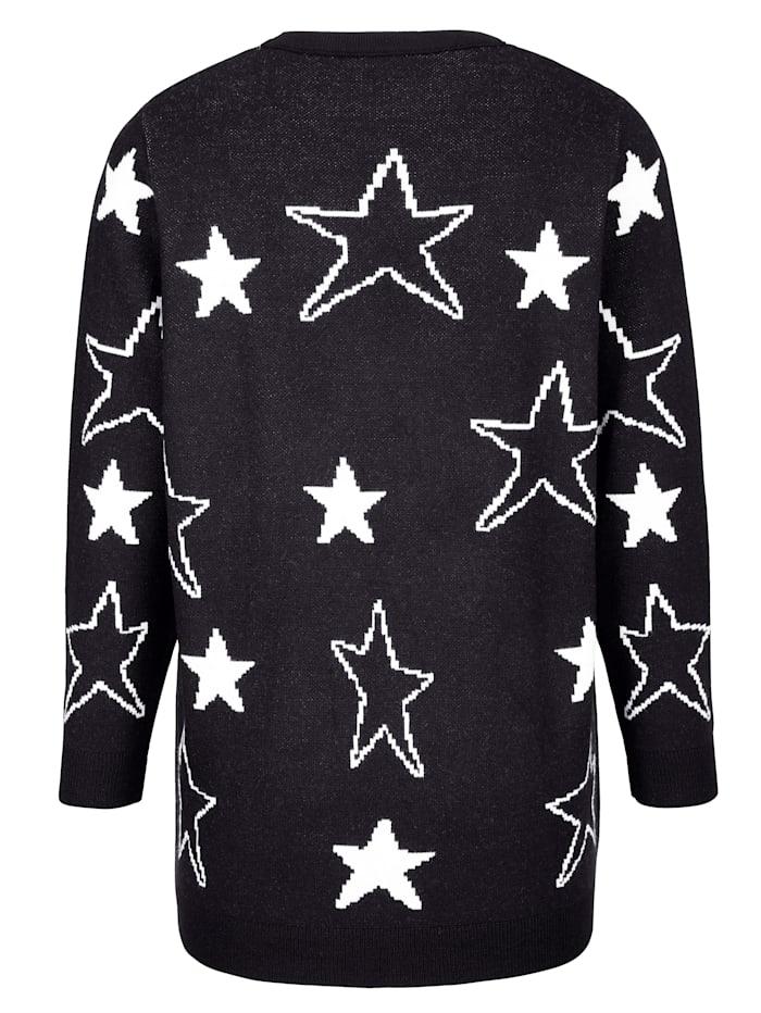 Pullover mit Sternenmotiven