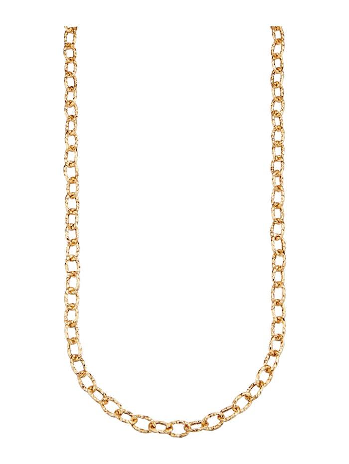 Halsband av ankarlänk, Guldfärgad