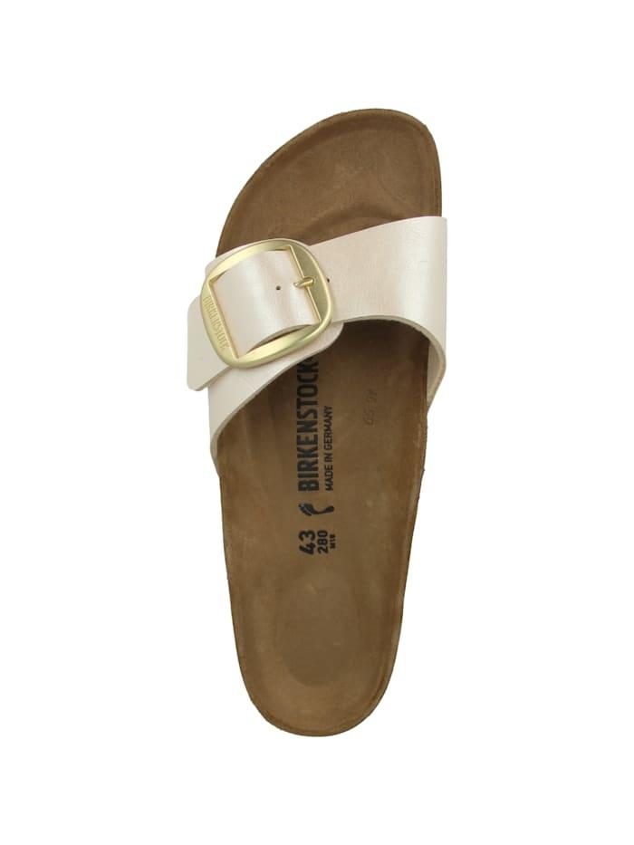 Sandale Madrid Big Buckle Birko-Flor schmal