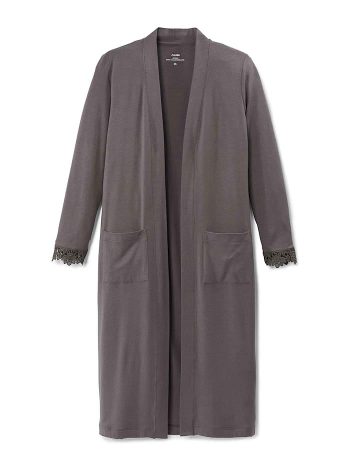 Calida Kimono Made in Europe, toasted taupe