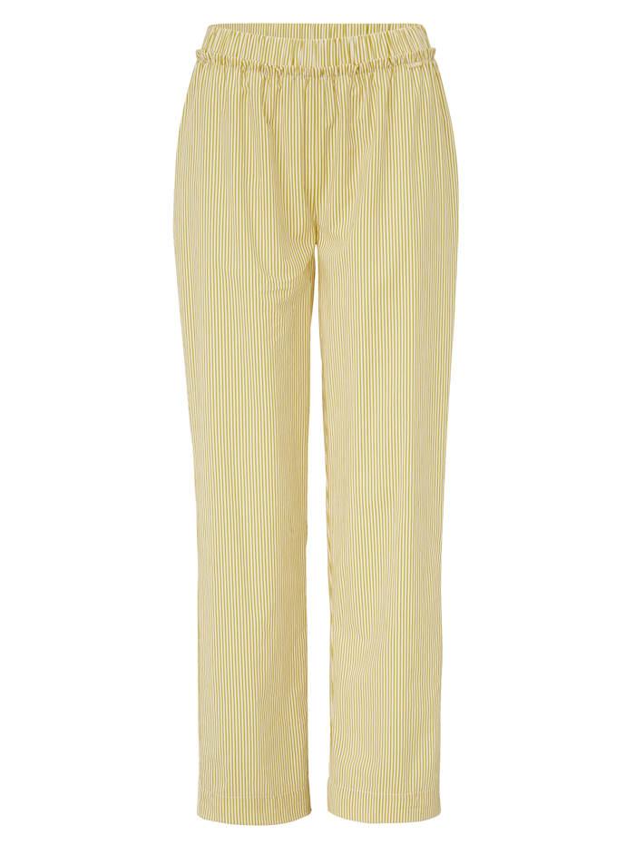 Cyell Pyjamahose mit Rüschen, Gelb