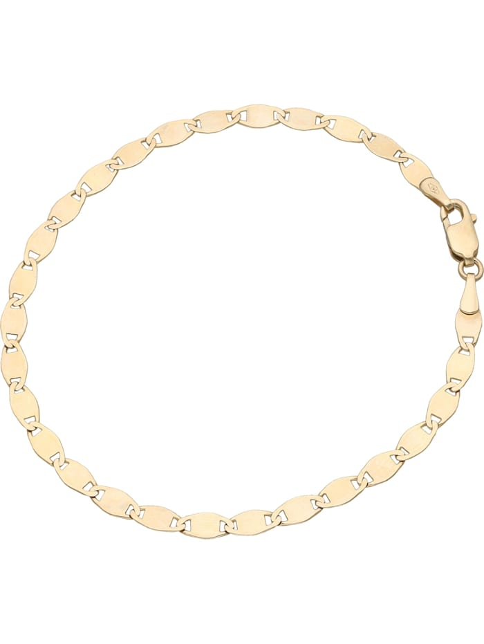 Luigi Merano Armband glanz, Gold 333, Gold