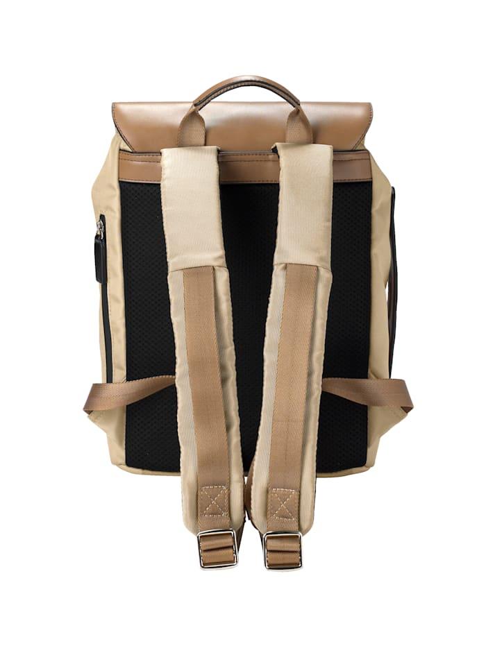 Rucksack mit kleinem aufgesetztem Reißverschlussfach