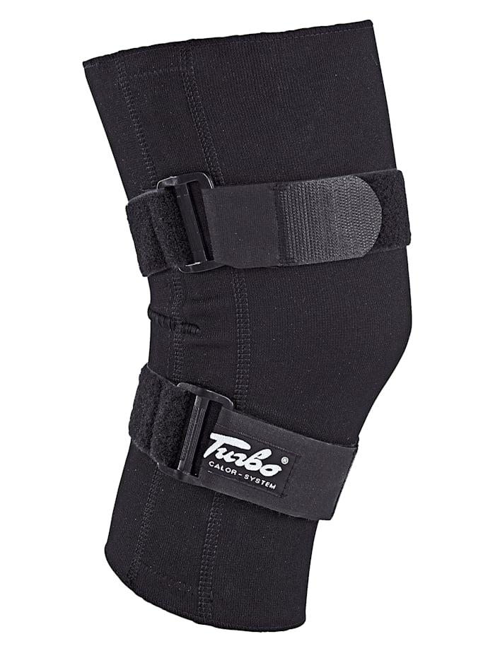Turbo® Med Kniebandage - anatomische Passform, schwarz