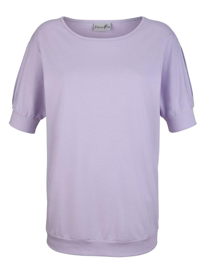 Shirt met cut-out