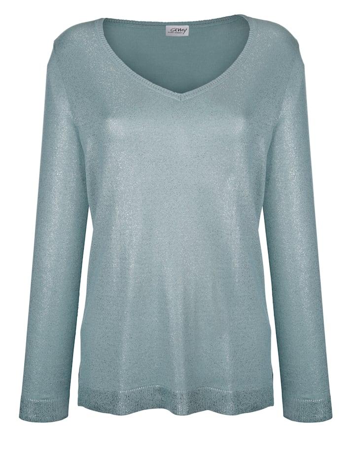 Pullover mit Foliendruck
