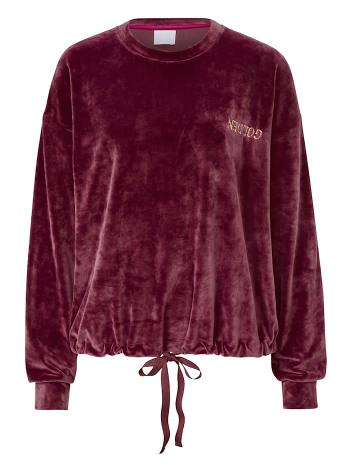 REKEN MAAR Sweatshirt, Bordeaux