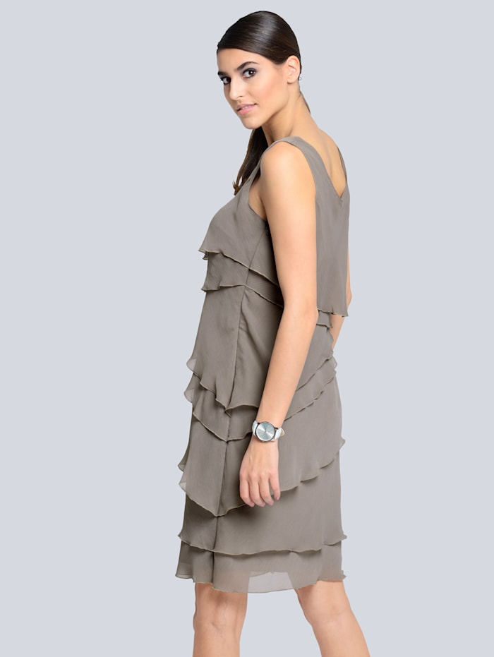 Kleid im modischen Lagenlook