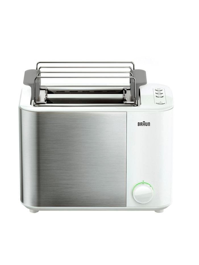 Braun Doppelschlitz-Toaster ID Collection HT 5010 WH, weiß