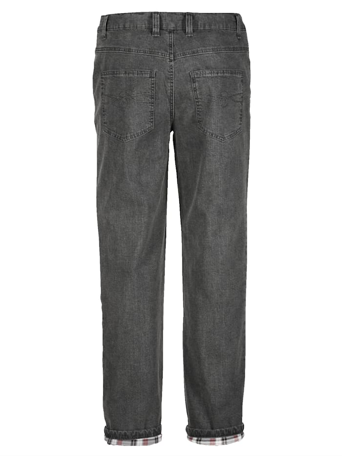 Thermojeans met warme thermovoering