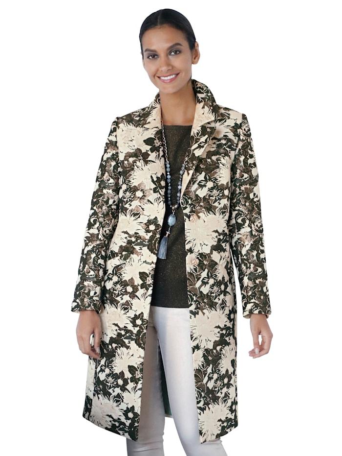 Kabát v žakárovej kvalite