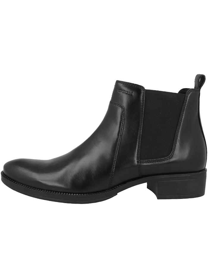 Geox Boots D Laceyin B, schwarz