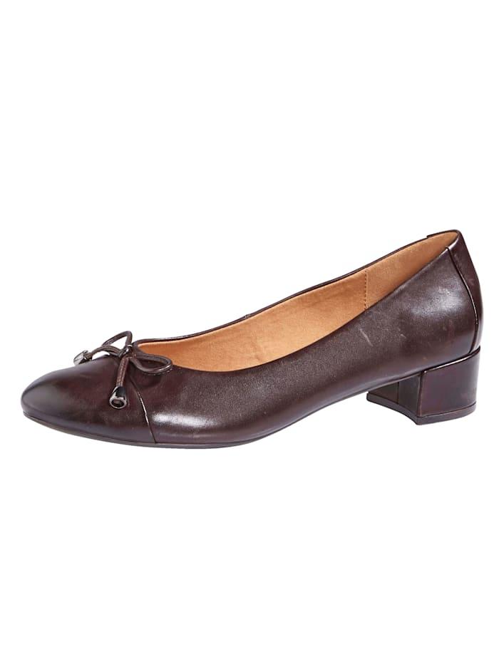 MONA Ballet pumps, Dark Brown