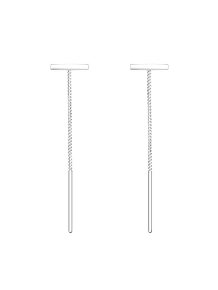 Ohrringe Geo Stift Stab Durchzieher Basic 925 Silber