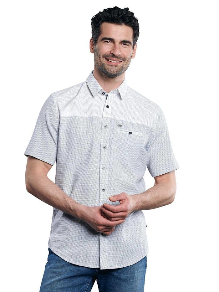 Engbers Hemd kurzarm, Hellblau