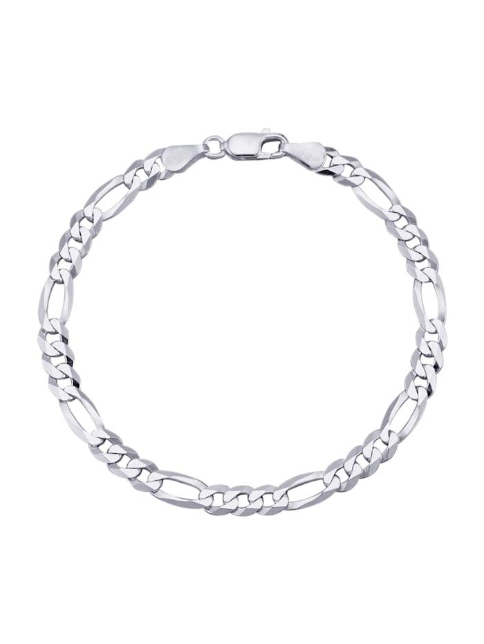 Grazielli Figaroarmband, Silberfarben