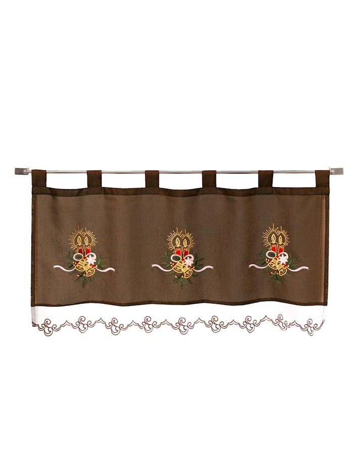 Webschatz Cafégardin, brun