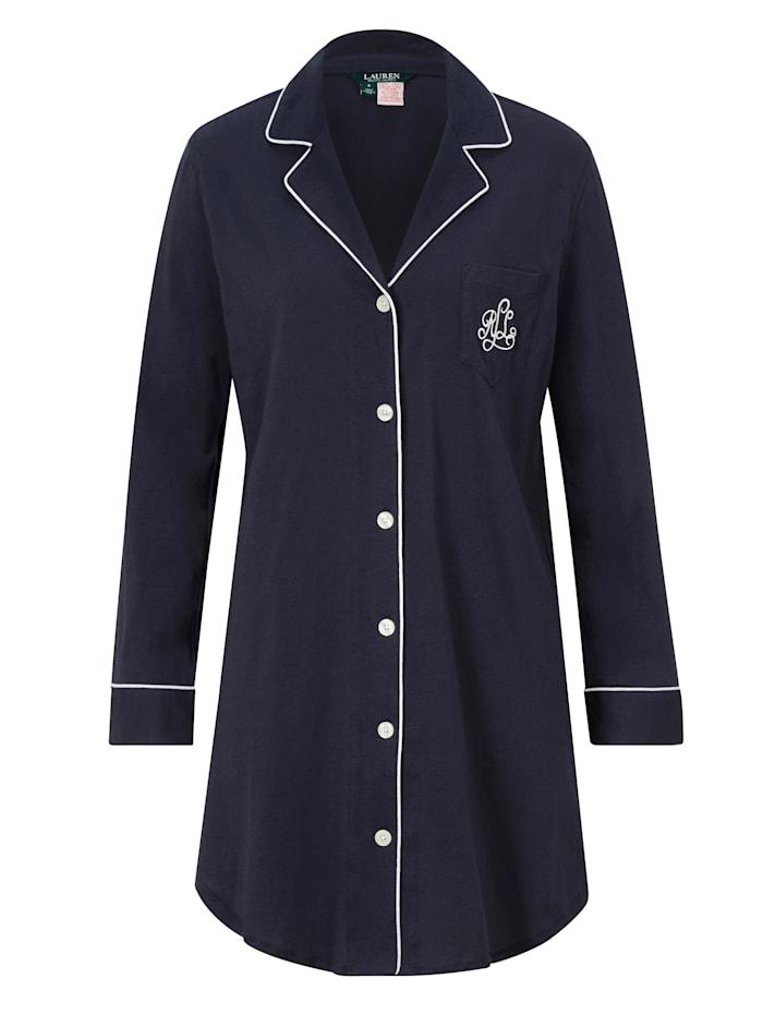 LAUREN Ralph Lauren Nachthemd, Marineblau