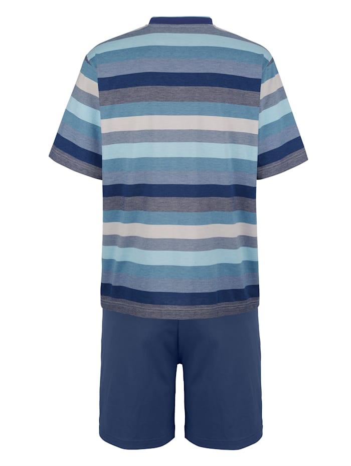 Pyjashort en matière thermorégulatrice