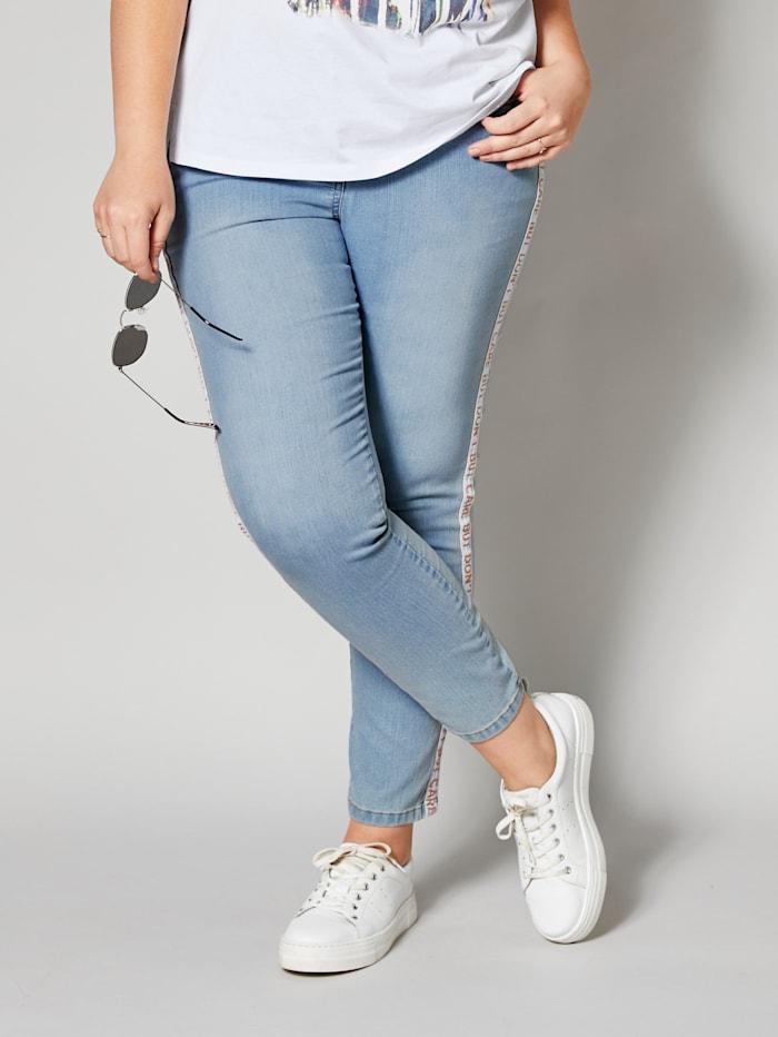 Jeans mit Ripsband
