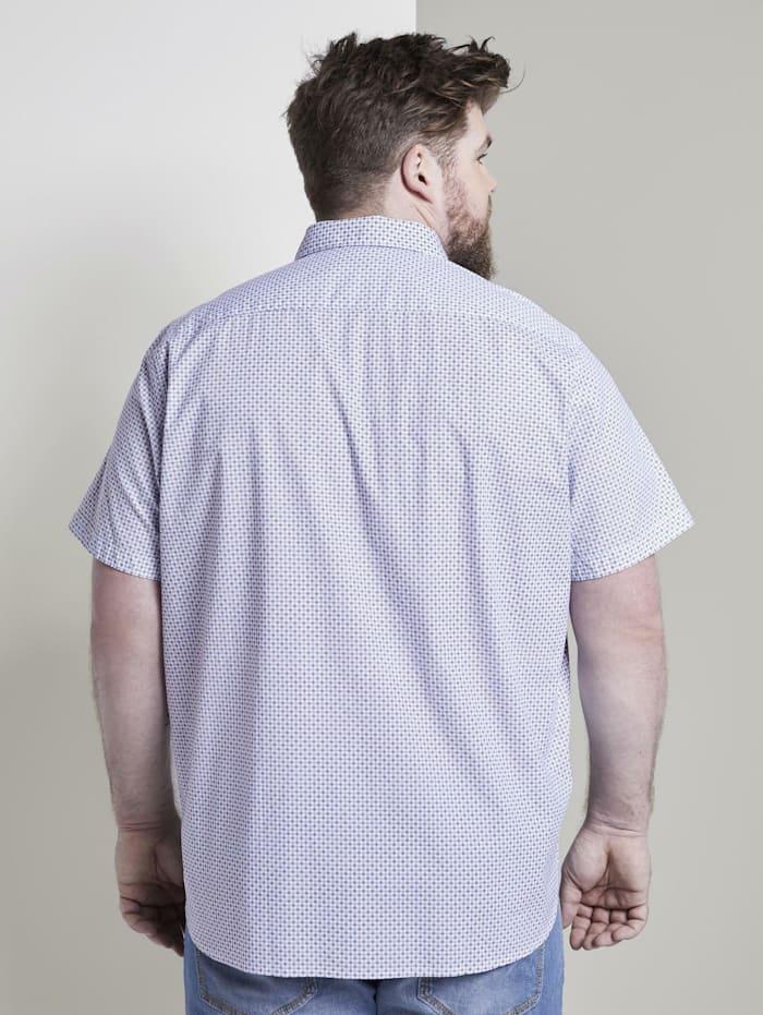 Gemustertes Kurzarmhemd